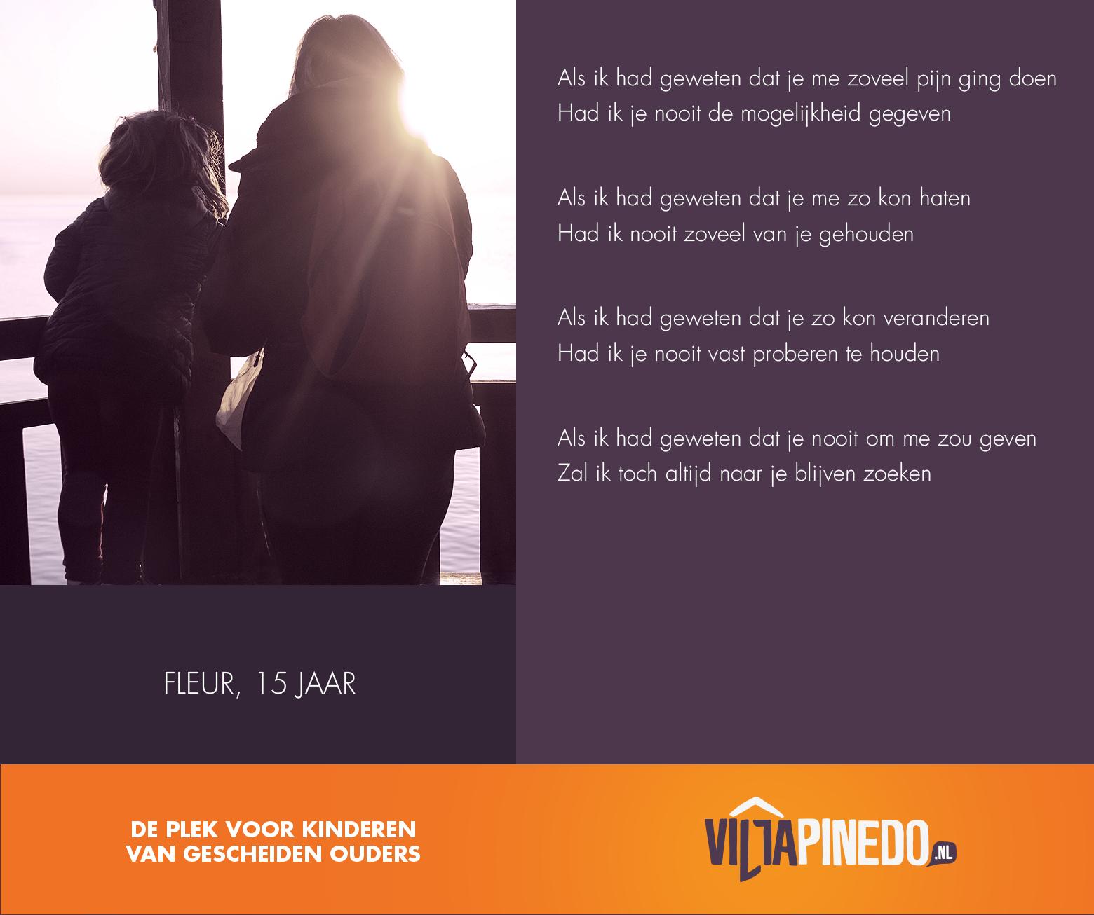 Gedicht Als Ik Had Geweten Villa Pinedo